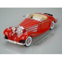 1936 Mercedes-Benz 500 K Type Special Roadster (Premiere Edition) by Maisto 1:18 (Red)