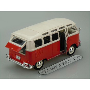 1951 Volkswagen Van ''Samba'' (Special Edition) by Maisto 1:25 (Red)