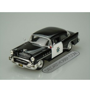 1955 Buick Century (Special Edition) by Maisto 1:24 (Black)