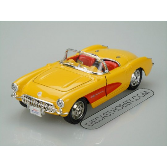 1957 Chevrolet Corvette (Special Edition) by Maisto 1:24 (Yellow)
