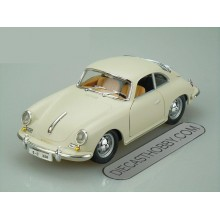 1961 Porsche 356B Coupe by Bburago 1:24 (White Matt)
