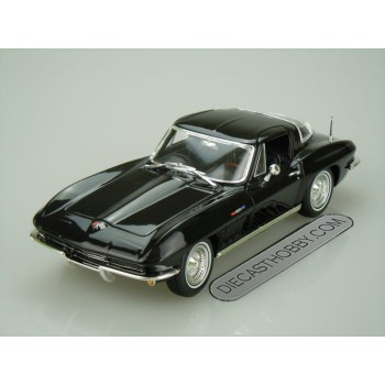 "1965 Chevrolet ""Corvette"" (Special Edition) by Maisto 1:18 (Black)"