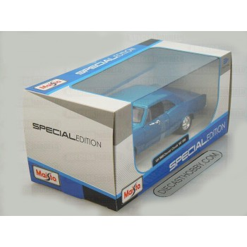 1966 Chevrolet Chevelle SS 396 (Special Edition) by Maisto 1:24 (Blue)