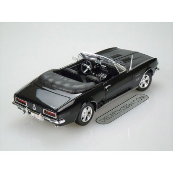 1967 Chevrolet Camaro SS 396 Convertible (Special Edition) by Maisto 1:18 (Black)