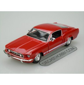 1967 Ford Mustang GTA Fastback (Special Edition) by Maisto 1:24 (Red)