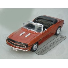 "1968 Chevrolet ""Camaro SS"" 396 Convertible (Special Edition) by Maisto 1:24 (Bronze)"
