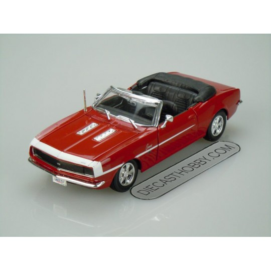 "1968 Chevrolet ""Camaro SS"" 396 Convertible (Special Edition) by Maisto 1:24 (Red)"