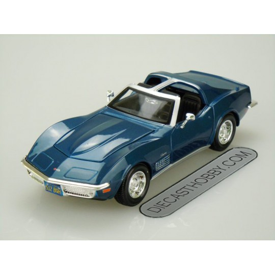1970 Chevrolet Corvette Stingray (Special Edition) by Maisto 1:24 (Blue)