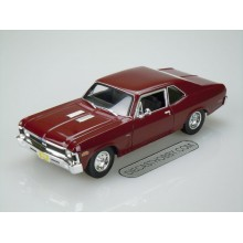 "1970 Chevrolet ""Nova"" SS"" Coupe (Special Edition) by Maisto 1:18 (Red)"