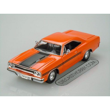 1970 Plymouth GTX (Special Edition) by Maisto 1:24 (Orange)