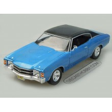 "1971 Chevrolet ""Chevelle"" SS"" 454 Sport (Special Edition) by Maisto 1:18 (Blue)"