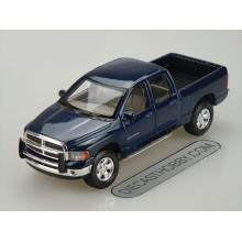 2002 Dodge Ram Quad Cab (Special Edition) by Maisto 1:27 (Blue)