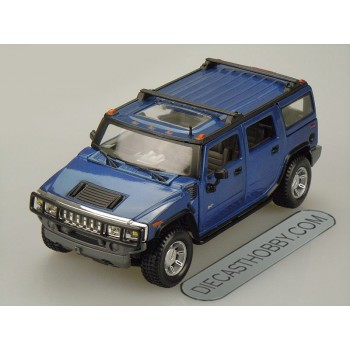 2003 Hummer H2 SUV (Special Edition) by Maisto 1:27 (Blue)