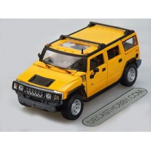 2003 Hummer H2 SUV (Special Edition) by Maisto 1:27 (Yellow)