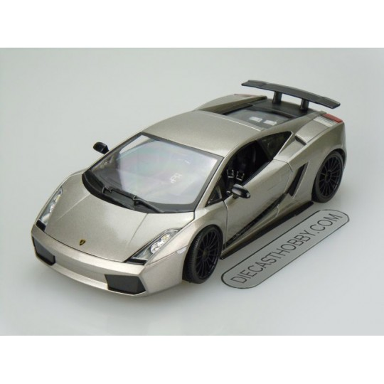 2007 Lamborghini Gallardo Superleggera (Special Edition) by Maisto 1:18 (Silver)