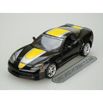 2009 Chevrolet Corvette Z06 GT1 Commemorative Edition (Special Edition) by Maisto 1:24 (Black)