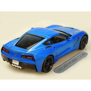 2014 Chevrolet Corvette Stingray Z51 (Special Edition) by Maisto 1:18 (Blue)