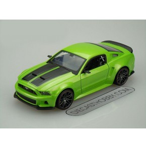 2014 Ford Mustang Street Racer (Special Edition) by Maisto 1:24 (Green)