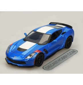 2017 Chevrolet Corvette Grand Sport (Special Edition) by Maisto 1:24 (Blue)