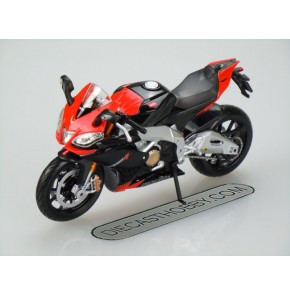 Aprilia RSV 4 Factory (Special Edition) by Maisto 1:12 (Black & Red)