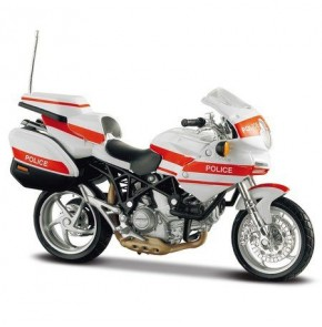 Ducati Police 1000DS (Special Edition) by Maisto 1:18 (White)