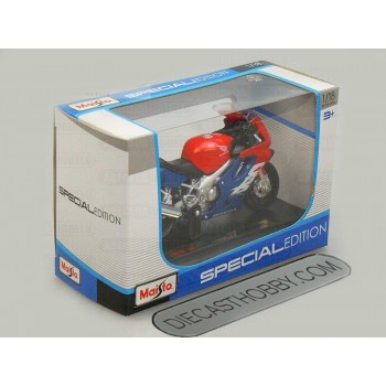 Honda CBR 600F (Special Edition) by Maisto 1:18 (Red & Blue)