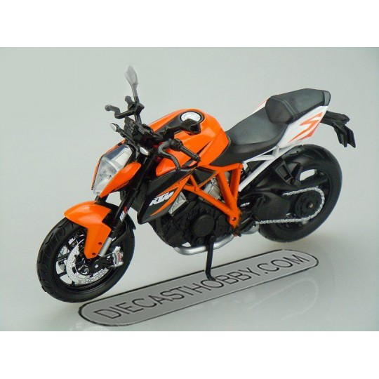 KTM 1290 Super Duke R (Special Edition) by Maisto 1:12 (Orange)