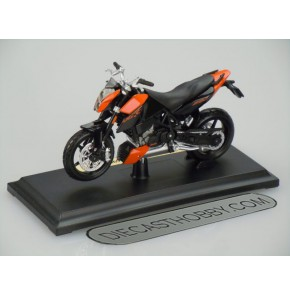 KTM 690 Duke (Special Edition) by Maisto 1:18 (Black)