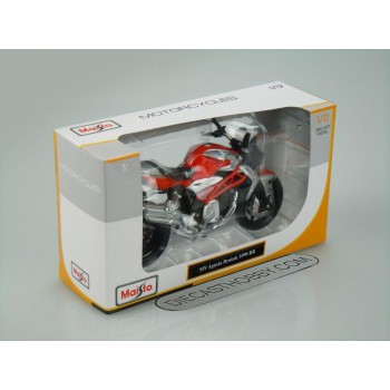 MV Agusta Brutale 1090 RR (Special Edition) by Maisto 1:12 (Red)