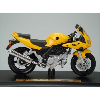 Suzuki SV650S (Special Edition) by Maisto 1:18 (Yellow)