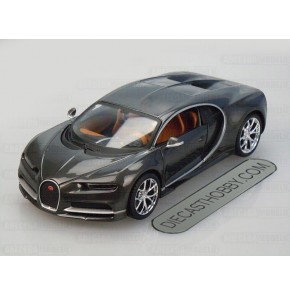 Bugatti Chiron (Special Edition) by Maisto 1:24 (Gray Met)