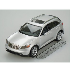 Infiniti FX45 (Special Edition) by Maisto 1:24 (Silver)