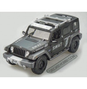 Jeep Rescue Concept Police (Premiere Edition) by Maisto 1:18 (Black)