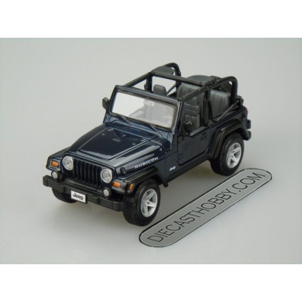 Jeep Wrangler Rubicon (Special Edition) by Maisto 1:24 (Blue)