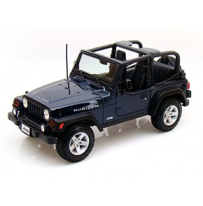 Jeep Wrangler Rubicon (Special Edition) by Maisto 1:18 (Blue)