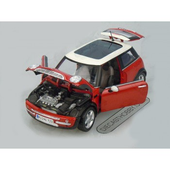 Mini Cooper (Sun Roof) (Special Edition) by Maisto 1:18 (Red)