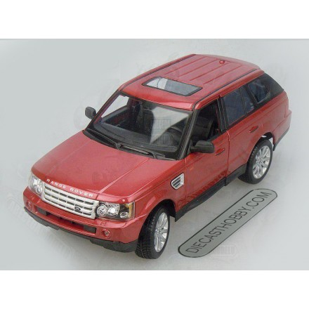 Range Rover Sport (Special Edition) by Maisto 1:18 (Red)